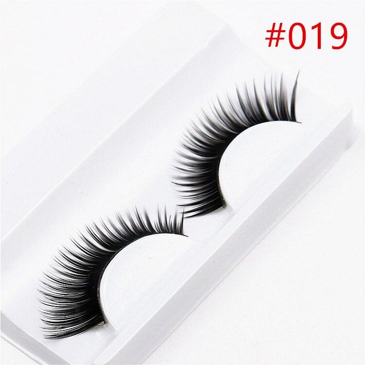 Beauty & Health 1 Pair Sell Peach Heart False Eyelashes Korea Natural Naked Makeup Long False Eyelash Handmake Eye Lashes Makeup Kit Gift #009 Beauty Essentials