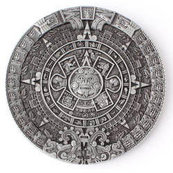 Ацтекский Солнечный Календарь ремень пряжка