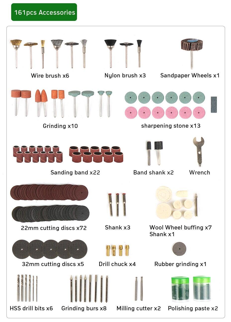 de potência máquina polimento ferramentas elétricas 12