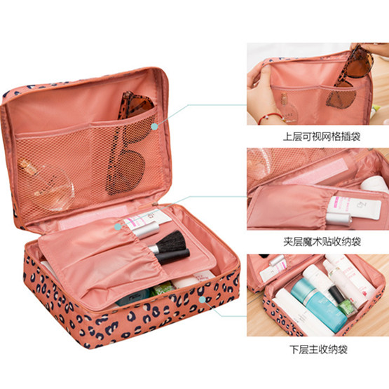 Lasperal 1pc Zipper Man Women Makeup Bag Cosmetic Beauty Case Make Up Organizer Toiletry Kits Storage Travel Wash Pouch In Bags From Home