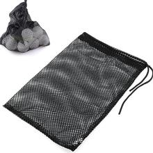 Buy Black HobbyLane Sports Mesh Net Bag Nylon Golf Tennis 12/25/50 Ball Carrying Drawstring Pouch 1pcs Golf Bags Golf Accessories directly from merchant!