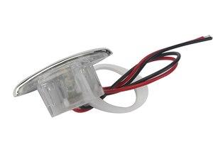 Image 2 - 1 قطعة الأبيض مركبة بحرية LED بالكهرباء الممر دوونستير ضوء ل 12 فولت المركبات RV
