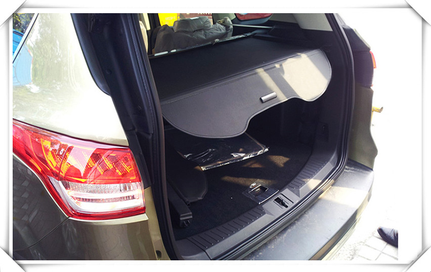 rear boot luggage cargo cover parcel security shelf for ford kuga escape 2013 2014 2015 2016. Black Bedroom Furniture Sets. Home Design Ideas