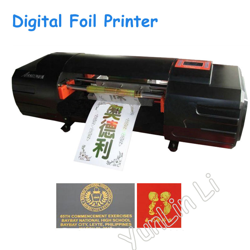 Цифровой печатная машина горячей Фольга тиснения для красивой свадьбы карты новые инновации принтер JMD 330B