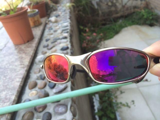 840c34b2a403b Roxo Red Polarized Lentes de Reposição para o Juliet Sunglasses Lens Só  (vendas somente Lentes