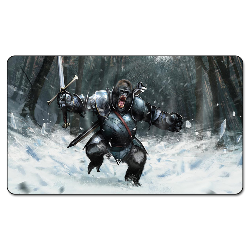 Many Choice Magic Card Games Custom Playmat MGT GUTTURAL RESPONSE Playmat, Board Games Ultra. Table Pad Pro with Free Bag