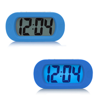 Kids Alarm Clock LED Snooze Battery Lamp Bedside Electronic Desk Clock Small Digital Talking Reloj Mesa Table clocks 50A0068