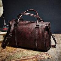 Famous Brands Vintage Handbag High Capacity Tote Shoulder Crossbody Bag High Quality Women Top Handle Bags