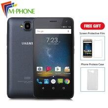 Доставка от RU Оригинальное uhans H5000 мобильный телефон 5.0 дюймов 4 г Android 6.0 MTK6737Quad core 3 ГБ Оперативная память 32 ГБ Встроенная память 4500 мАч смартфон