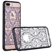 DEVIA For IPhone7 Plus Cases Authorized Swarovski Crystal Baroque Plating Hard Case For IPhone 7 Plus