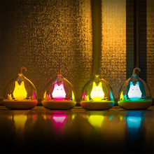 USB Touch LED Table Lamps Baby Room Rechargeable Desk Lamp Christmas Decoration Kid Children Bedroom Bedside Night Lights Abajur(China)
