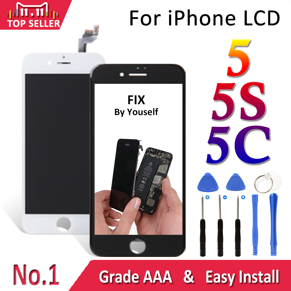 LCD HOUSE For iPhone 5 5s 5c LCD Display Module Touch