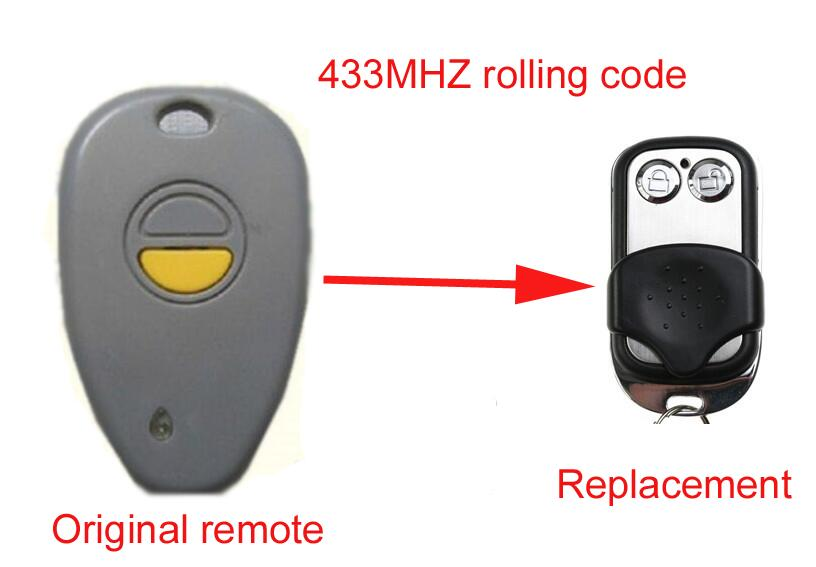 Twindoor replacement remote control 433MHZ after market peccinin remote control 433mhz replacement
