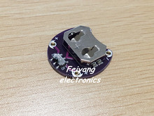 Smart Electronics New for Arduino LilyPad Coin Cell Battery Holder CR2032 Battery Mount Module