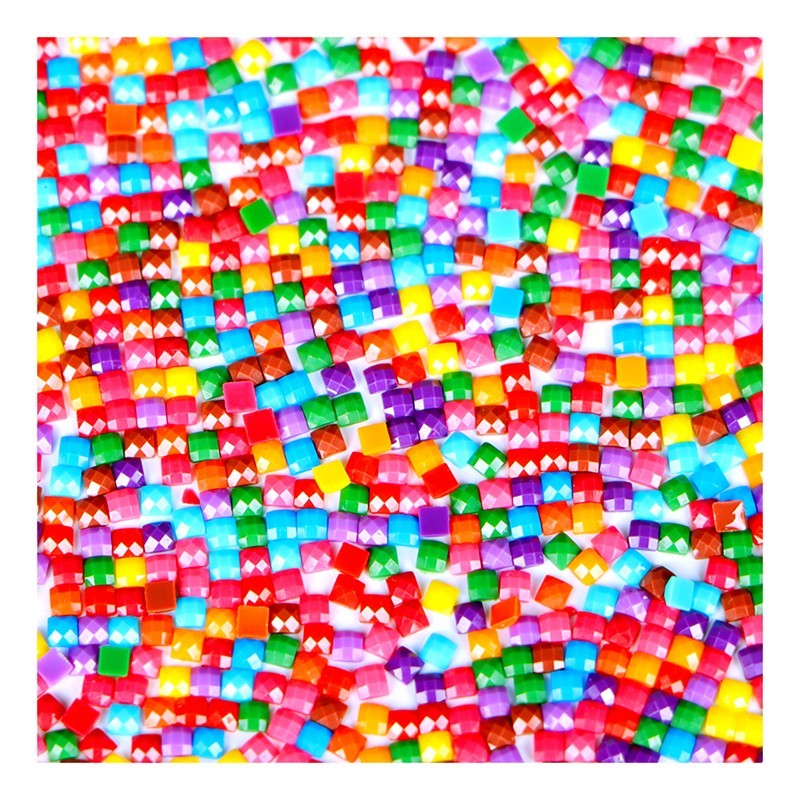 YI BRIGHT 447 Color Full Square/Round Drills Resin