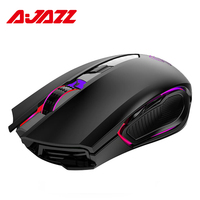 New Ajazz AJ302 Pro 2.4G Wireless Dual Mode RGB Backlight 5000 DPI Gaming Mouse For Laptop Computer PC Gamer Mouse