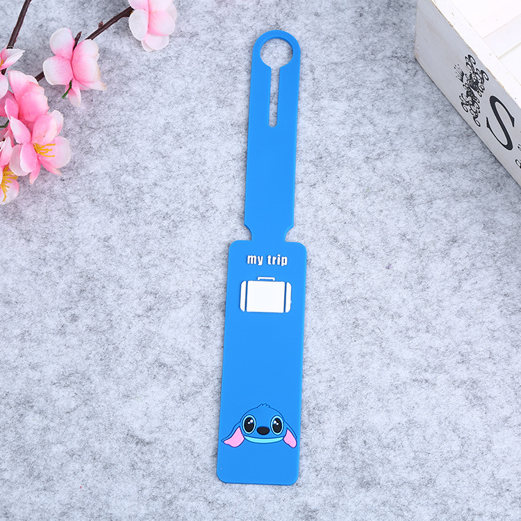 Tavel Accessories Creative Luggage Tag Fruits Cartoon Silica Gel Suitcase ID Addres Holder Baggage Boarding Tags Portable Label
