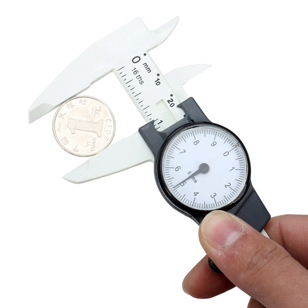 JIGUOOR  0-150mm /0.02mm Shock-proof Precision Vernier Caliper Gauge Measuring Tool with Dial Millimeter Thickness Meter