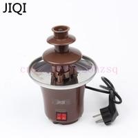 Household Mini Chocolate Fountain Machine Chocolate Fondue Self Restraint Belt Heated As Seen On Tv