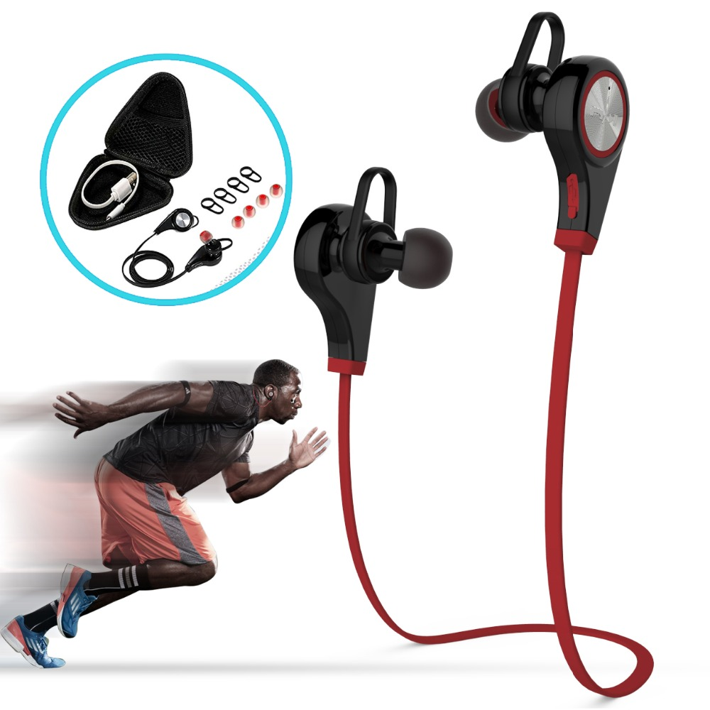 LANGTEK Bluetooth Earphone Headphone Microphone stereo wireless Sports headset bluetooth 4.1 for Iphone Samsung Xiaomi HTC комплект дефлекторов vinguru накладные скотч для kia sportage 2010 4 шт