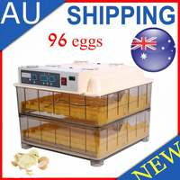 Cheap Price Poultry Hatchery Machine 96 Egg Digital Temperature Full Automatic Egg Incubator For Chicken Duck