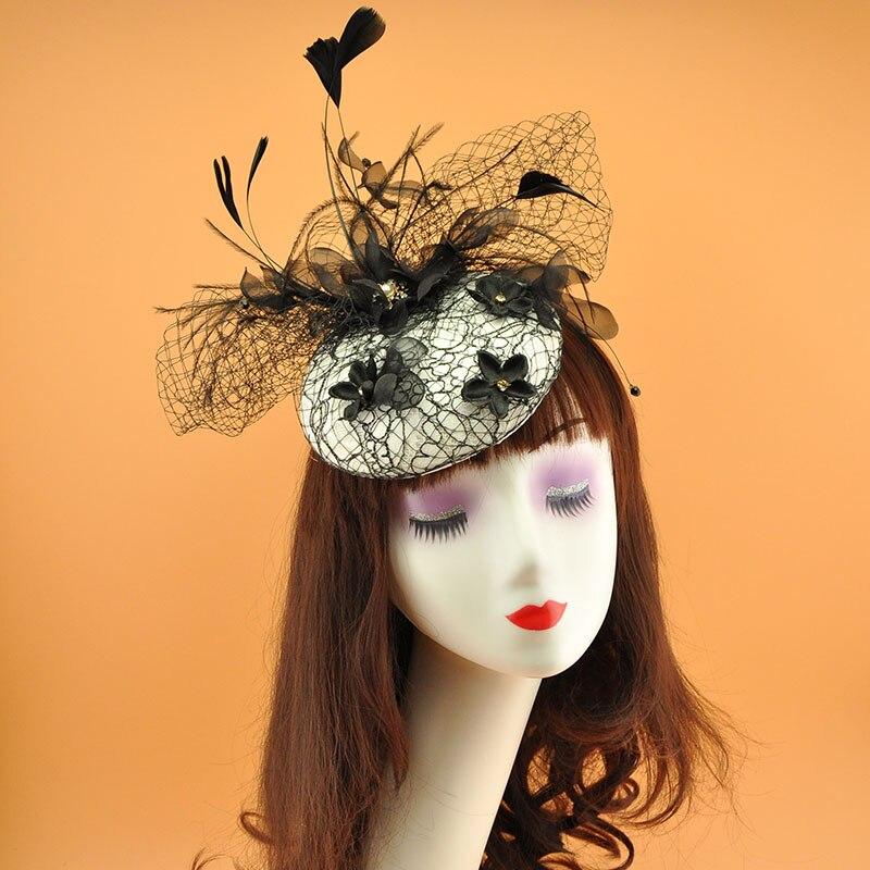 Accessoires de cheveux coiffure Festival mariage pinces à cheveux fleur dentelle casque