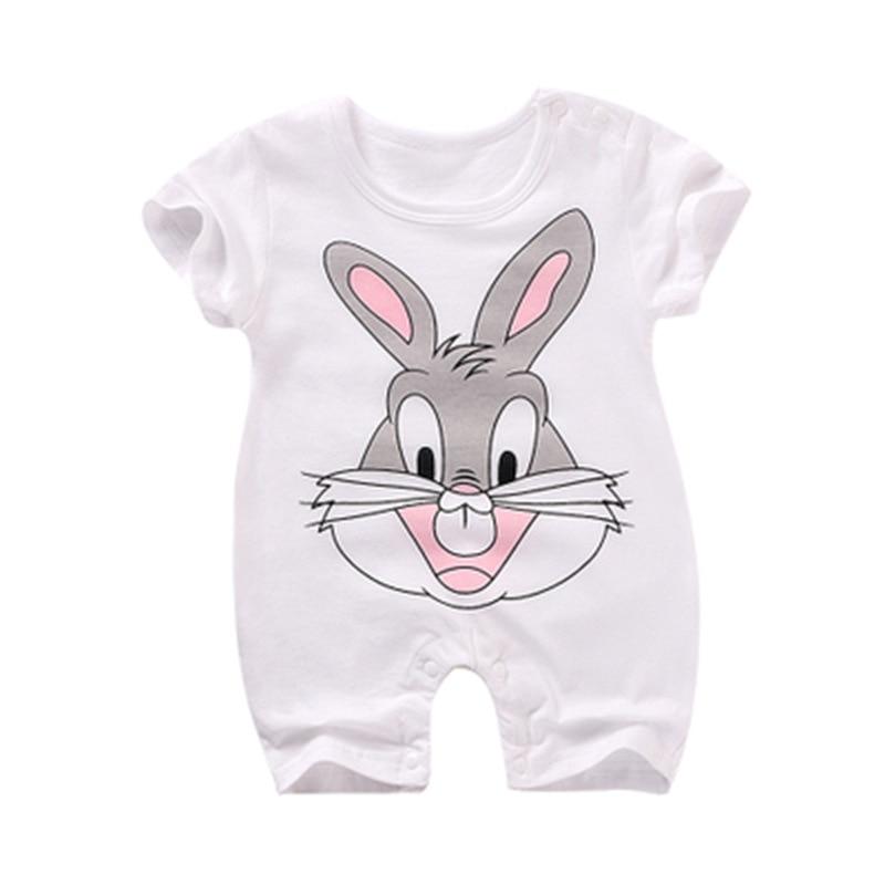 Lato Baby Rompers Cotton Baby Girl Ubrania Moda Baby Boy Odzież 2018 - Odzież dla niemowląt - Zdjęcie 3