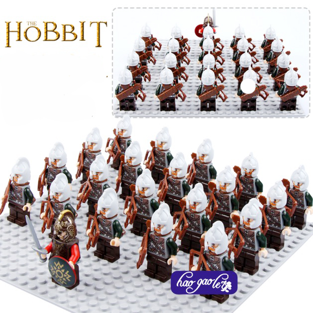 110pcs PG503 Rohan Archer igures Building Blocks Children Toy Lord of the Rings 9471 The Battle of Helm's Deep 2017 toys eighteen disciples of the buddha children puzzle toy building blocks