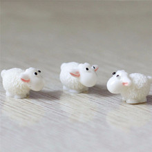 5Pcs / Set Kawaii Mini Sheep Dolphins Animals Home Micro Fai
