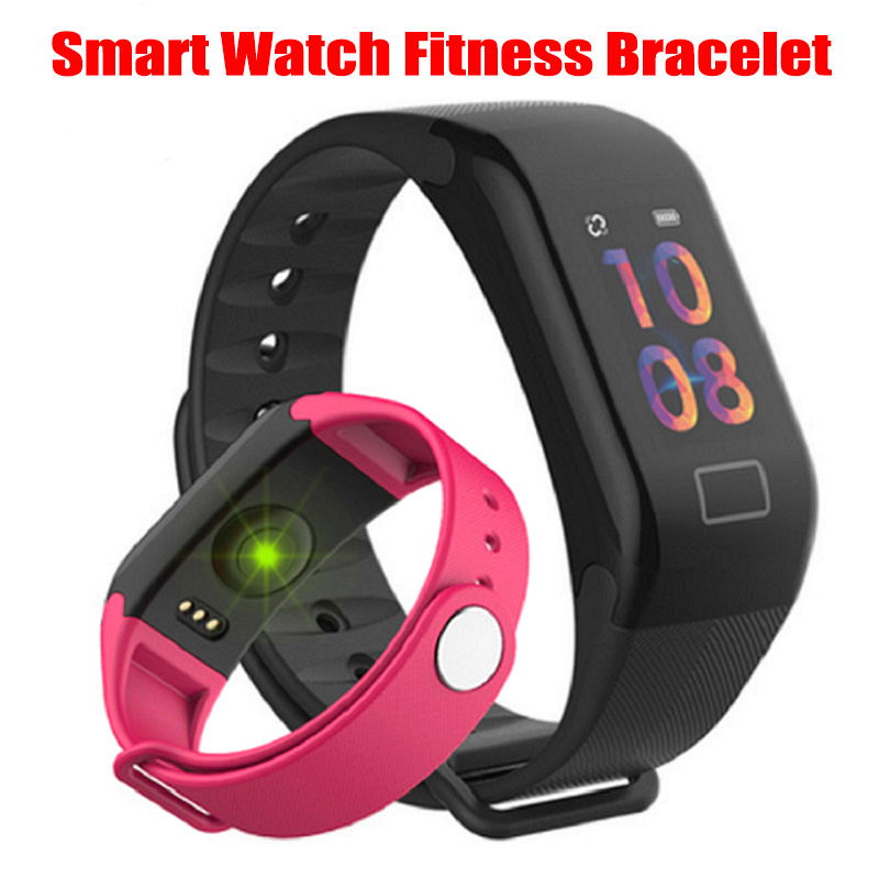Smart Watch Fitness Bracelet With Heart Rate Blood Pressure Monitor Steps Tracker Smartwatch Men Women Call Reminder For IPhone
