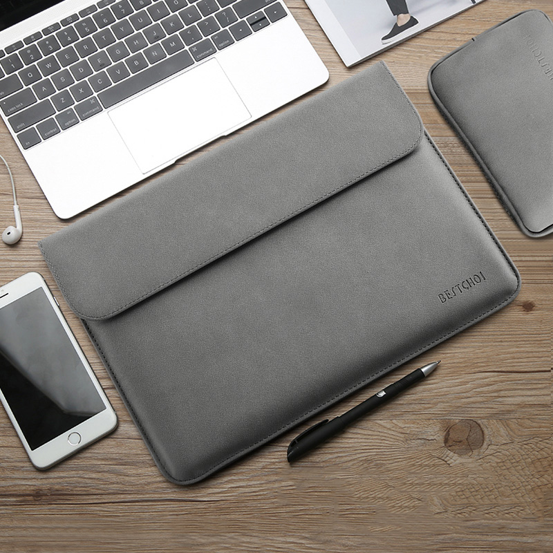 <font><b>Notebook</b></font> Sleeve Bag for Macbook 13.3 inch Huawei Matebook D <font><b>Xiaomi</b></font> Surface Pro 6 Laptop Bag 12 Pro 13 <font><b>15</b></font> inch Women Men 14 <font><b>15</b></font>.4 image