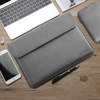 Sacchetto Del Manicotto Del taccuino per Macbook da 13.3 pollici Huawei Matebook D Xiaomi Superficie Pro 6 Sacchetto Del Computer Portatile 12 Pro 13 15 pollici Degli Uomini Delle Donne di 14 15.4