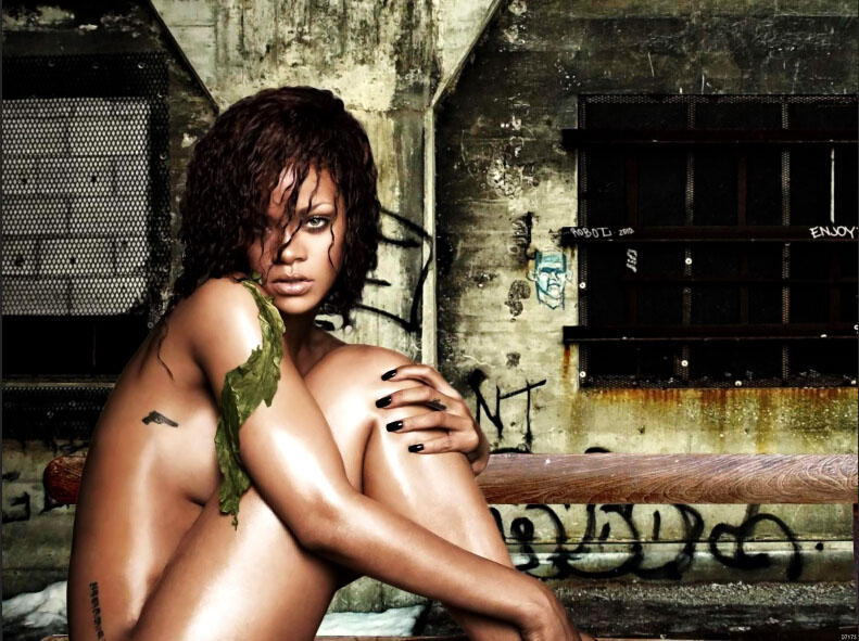 from Ephraim rihanna fenty naked sex