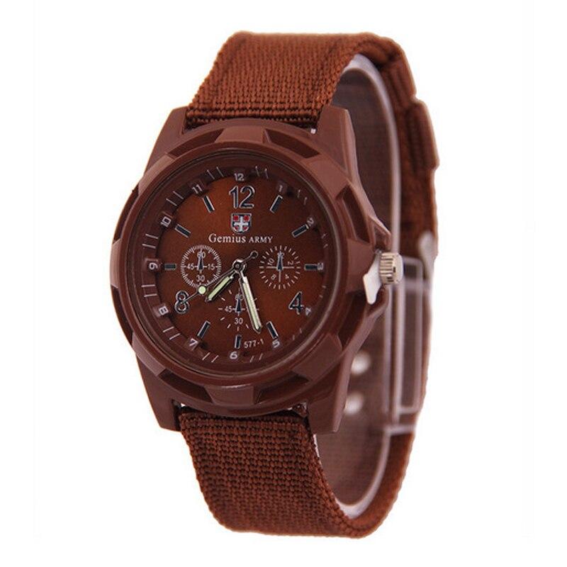 2019 drop shipping Men Nylon band Military watch Gemius Army watch High Quality Quartz Movement Men sports watch Casual wristwatches (4)