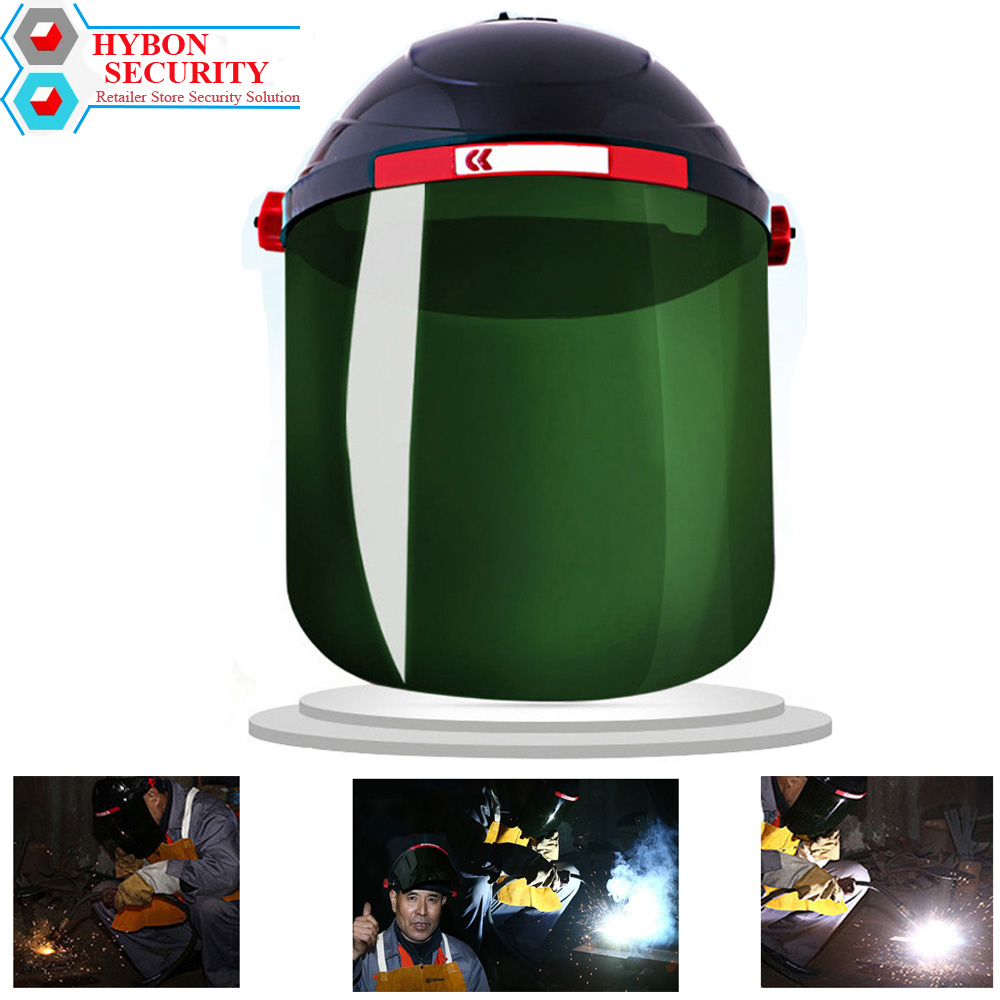 Safety Helmet Work Welding Mask Safety Mask ARC Labor Protective Mask Goggle Anti-UV Surface Welding Protection Welder GAS anti splash resistant high temperature aluminum alloy bracket mask safety protection mask
