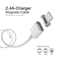 2.4A Charging Magnetic Cable For Samsung Apple iPhone 5 5s 6 6s 7 Plus Mobile Phone Magnet Charger Micro USB Charge Accessories
