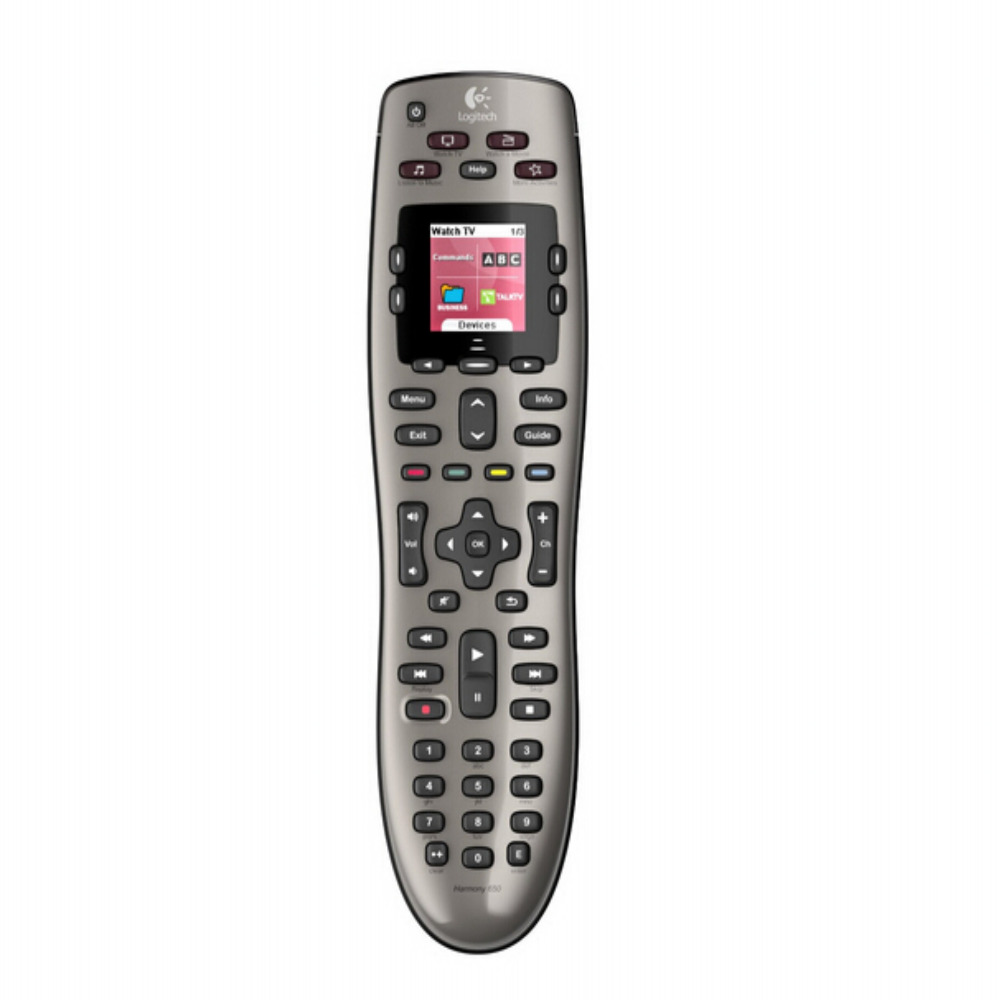 100% new Logitech Harmony 650 Remote Control - Silver (915-000159) fifth harmony acapulco