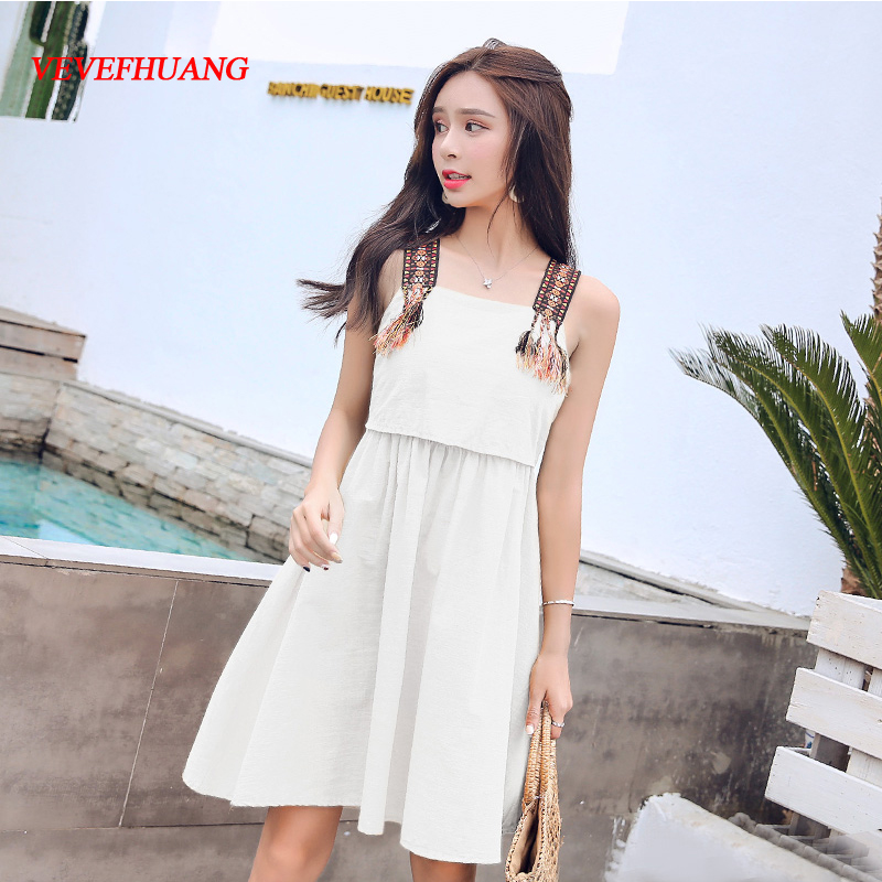 2018 Summer Women dress Bowlt Spaghetti Strap Slim Chiffon Ultra Short All Back Dresses White Yellow L0857
