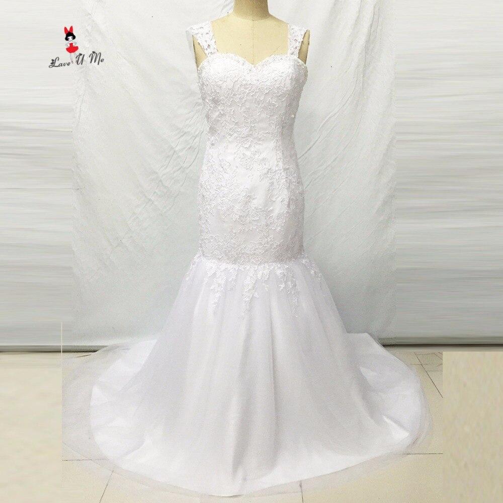 Vestido De Noiva Sereia Plus Size Wedding Dress Mermaid