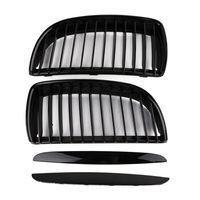 Gloss Black A Pair Air Intake Grille Kit Decoration Sticker For BMW 3 Series E90 Great Value