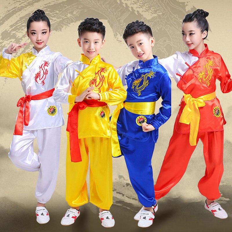 28  Long Sleeve KungFu Uniform Wushu TaiChi Uniform Costume Taichi Clothes Girls Woman