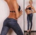 2016 Новых Женщин Прибытия Мода Леггинсы Эластичный Тощая Нога Брюки Jeggings American Apparel Панк Легинсы C1234