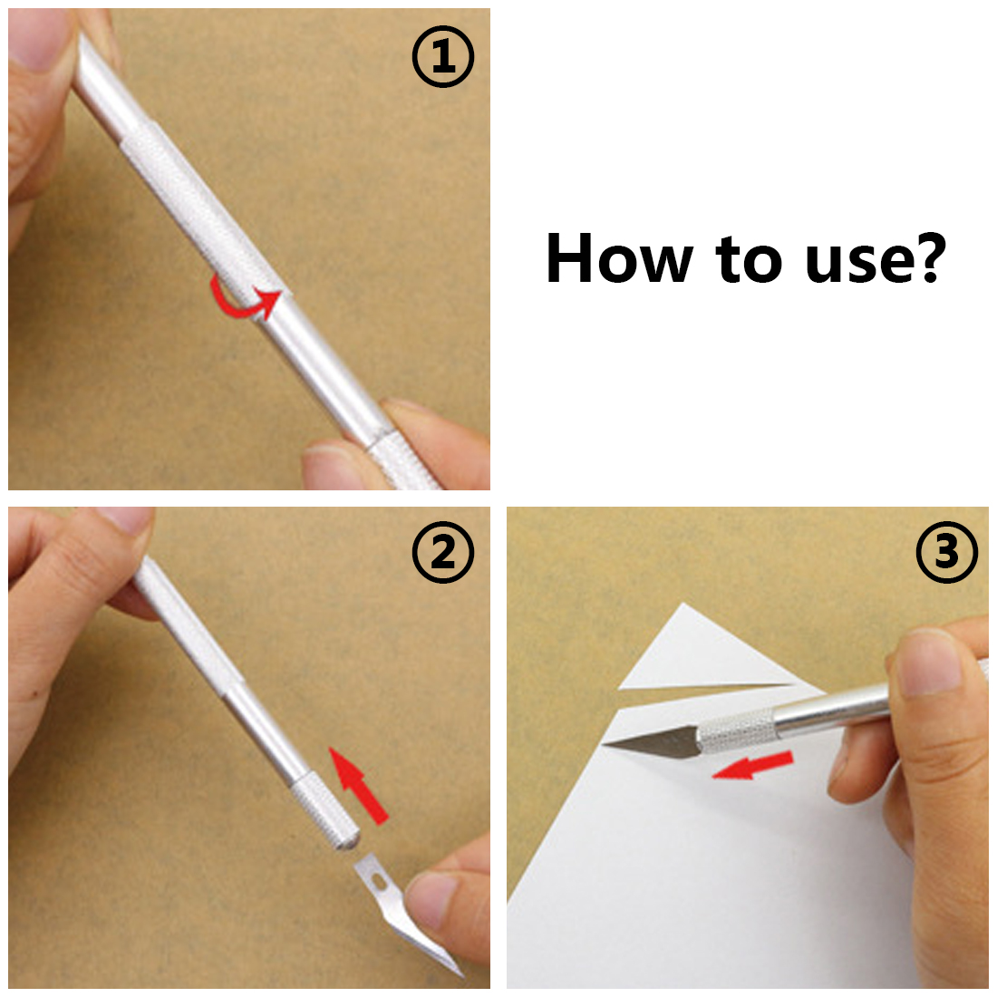 9pcs/set Blades Wood Carving Tools Fruit Food Craft Sculpture Engraving Knife Scalpel DIY Cutting Tool Repair Hand Tool Sets 2