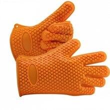 Многофункциональный бытовой жаропрочных и анти-ошпарить номера силикагель теплоизоляция печь микроволновая печь перчатки