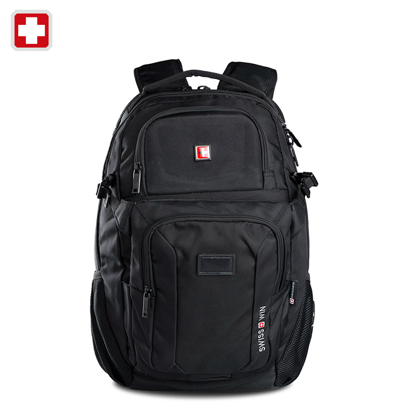 Swisswin swiss 2016 business laptop case 15.6 inch backpack men travel bags man casual bag for ipad sac courses mochila felt golf courses