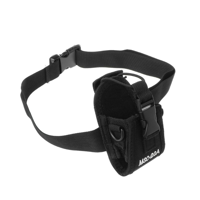 Adjustable Nylon Interphone Sheath Wristband Tactical Bag Belt Wrist Band For Multiple Walkie Talkie Military Tactical Pouch