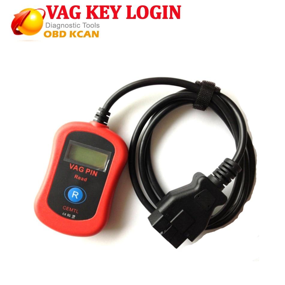 Самые популярные и горячие продажи VAG считыватель VAG PIN код VAG ключ Логин для Audi и других марок автомобилей