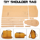 Acrylic Template Pattern for Lovely Shoulder Bag Soft Leather Craft Pattern XKB-20 DIY Simple Style Bag Stencil