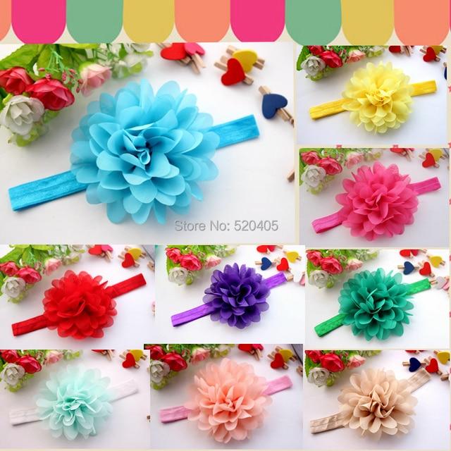 Lotus flower headbands floral headband girls hair accessories hair lotus flower headbands floral headband girls hair accessories hair band 24pcs mightylinksfo