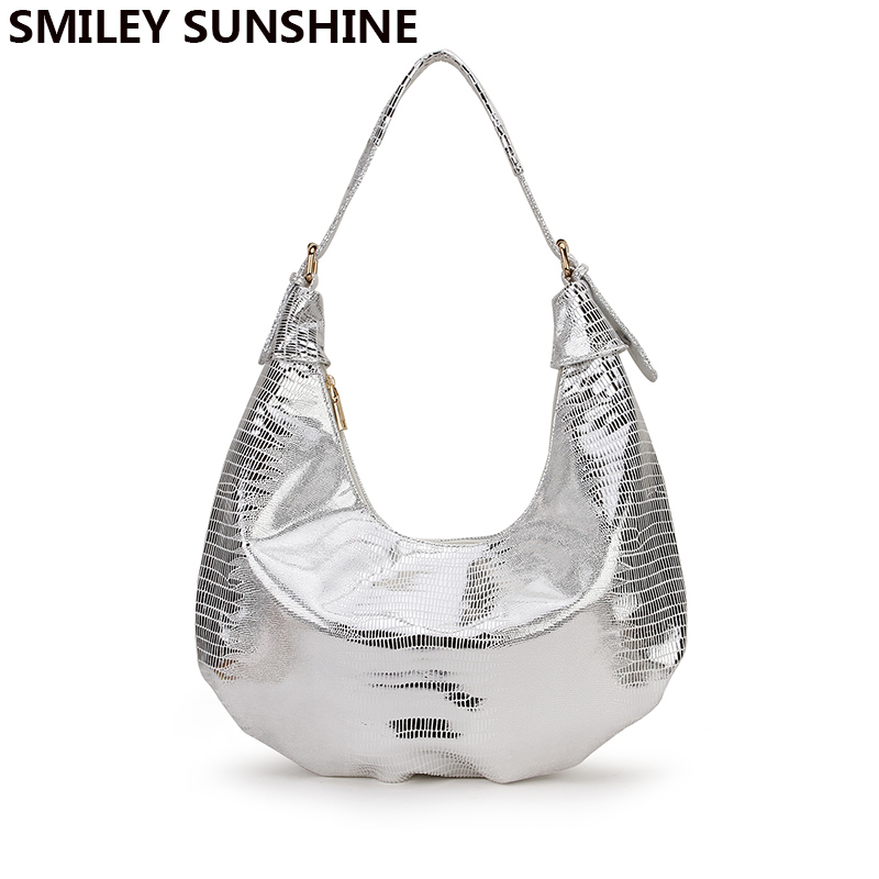SMILEY SUNSHINE Snake Print Silver Women Leather Handbags 2019 Big Capacity Vintage Female Shoulder Bags Large Ladies Hand BagsSMILEY SUNSHINE Snake Print Silver Women Leather Handbags 2019 Big Capacity Vintage Female Shoulder Bags Large Ladies Hand Bags